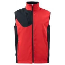 Softshell Vest 3702 Rood