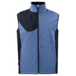 Softshell Vest 3702 Lichtblauw