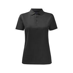 Polo dames 2041 Zwart