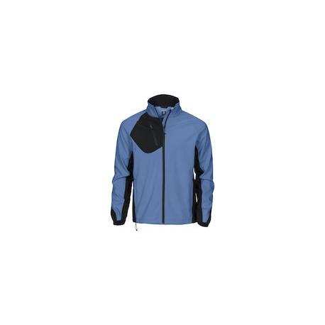 Softshell Jas 2422 Lichtblauw