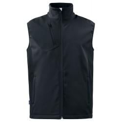 Softshell Vest 3702 Zwart
